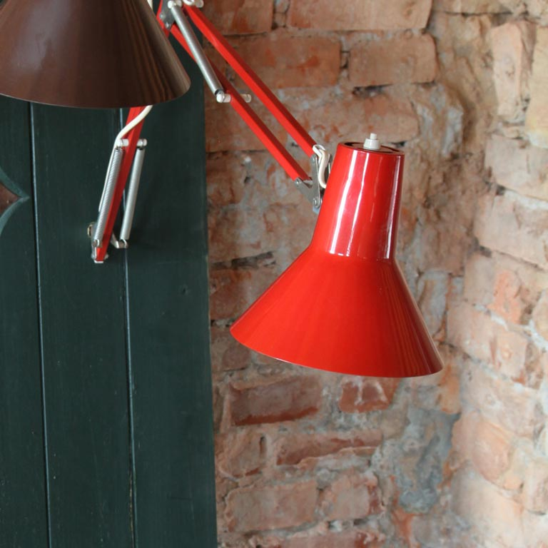 Tischlampe orange